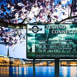 Cor Zegveld exclusive radio mix Techno Connection UK Underground FM 25/10/2019