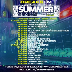 Pressa - Breaks FM - Summer Session - 18.7.21