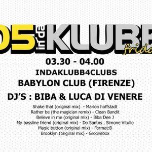 Le Markette @ 105 INDAKLUBB (Radio 105) #8