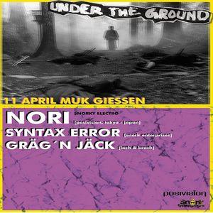 Syntax Error @ UNDERtheGROUND Sound Of Doom - MuK Giessen - 11.04.2014