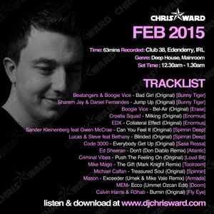 Chris Ward February 2015 Live Set