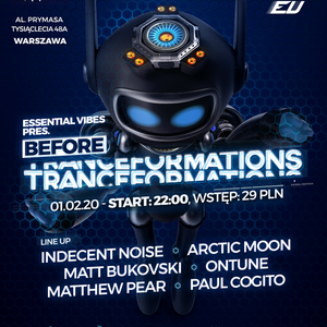 onTune live at Essential Vibes pres. Before Tranceformations 01.02.2020 Warsaw