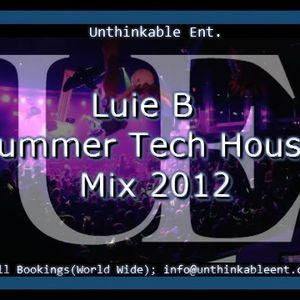 Luie B - Summer Tech House Mix 2012