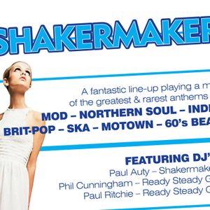 Shakermaker mix april 2010 DJs Paul Ritchie & Phil Cunnigham