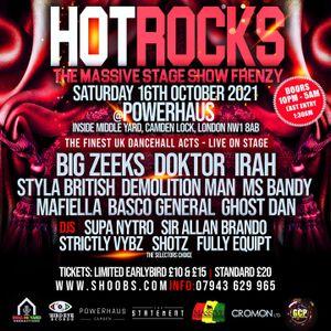 Drum & Bass Network Radio - Hotrocks Promo Show - Powerhaus [nw1 8ab]