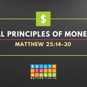 Biblical Principles Of Money (Part 1) (Audio)