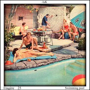 Etagère 25 - swimming pool party