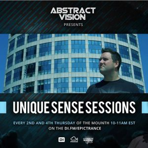 Abstract Vision - Unique Sense Sessions 025 (Ultimate guestmix)