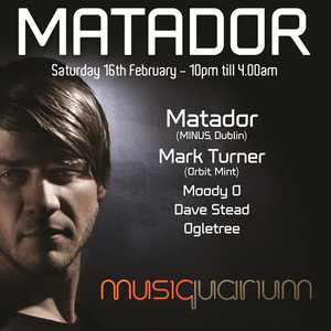 Mark Turner - Musiquarium - 160213 - Matador Party