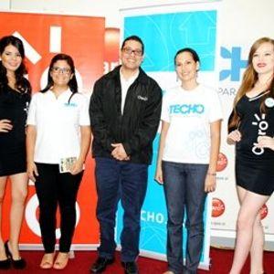 Conferencia de prensa de Claro en apoyo a campaña social de TECHO Nicaragua