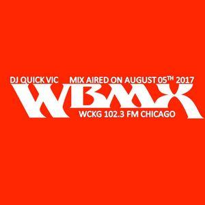 DJ Quick Vic on WBMX'S Saturday Night Live Ain' No Jive Chicago Dance Party - 08-05-2017
