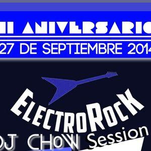 DJ CHOW, segundo aniversario ElectroRock 27-09-2014