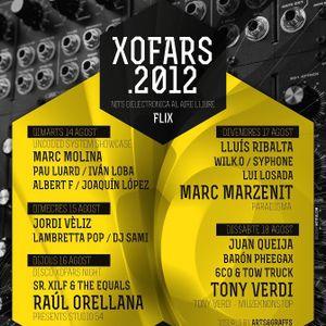 Albert F @ Xofars 2012