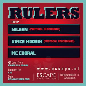 Vince Moogin at Escape Rulers