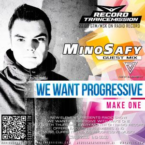 TranceMission | MINO SAFY guest mix on We Want Progressive #022 With Make One