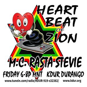 NOV 18 2016 Rasta Stevie's HEART BEAT OF ZION on KDUR FM feat Special I-view Best E.N YOUNG