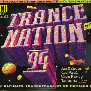 Trance Nation '94 (Vol 1) Mixed by Jens Mahlstedt