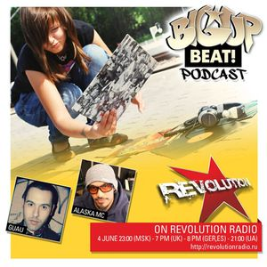 GIRA BIG UP BEAT!PODCAST - SPECIAL GUEST GUAU (SPAIN, ELECTROSHOCK RECORDS)