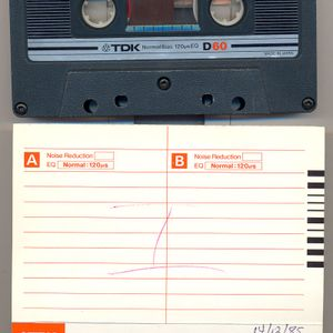 """CLUB PAPAGAYO"" Athens (14/12/1985) (Mix Tape Side A)"