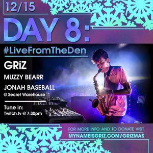 GRiZ (Live Set), Muzzy Bearr, Jonah Baseball, GRiZ (DJ Set)