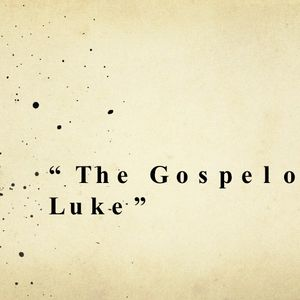 "Luke 3:1-6 ""John The Baptist"""