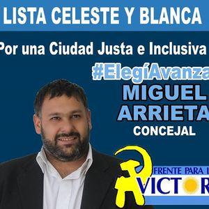 Audio entrevista-Miguel Angel Arrieta-Precandidato en primer término por la lista Celeste y Blanca