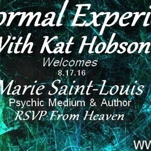 Paranromal Experienced with Kat Hobson_20160817_Marie Saint - Louis