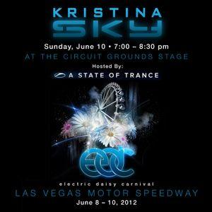 Kristina Sky Live @ A State of Trance Invasion, Electric Daisy Carnival (Las Vegas) [06-10-12]