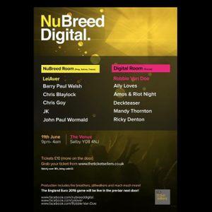 NuBreed Digital taster