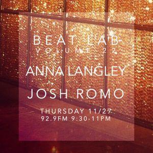 Anna Langley - Beat Lab Radio Vol 22- Exclusive Mix