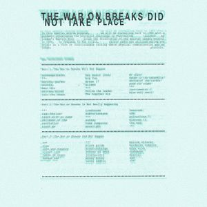 The War On Breaks Did Not Take Place, VIP MIX, 30 May 2020