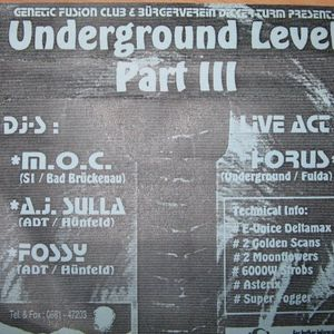 Horus - Live Performance @ Underground Level III 1996