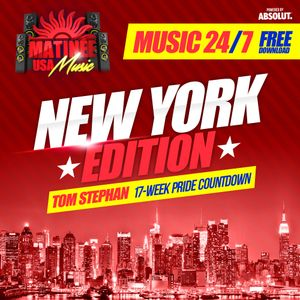 Matinee USA Music 24/7 - New York Edition - TOM STEPHAN - Peak Hour Set