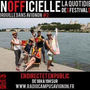 Inofficielle #2 - Radio Campus Avignon - 10/07/2014