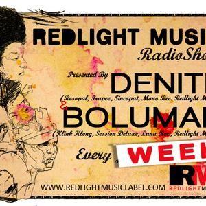 Redlight Music Radioshow 027 // By Bolumar (English)