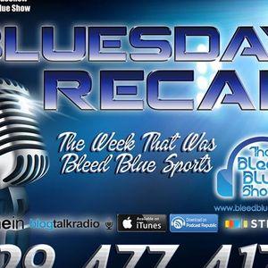 Bluesday Recap - Thanksgiving Edition