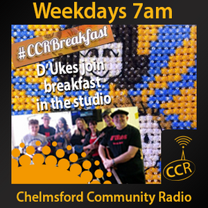 Wednesday Breakfast - @CCRBreakfast - Lucy, Rob & Jamie - 30/04/14 - Chelmsford Community Radio