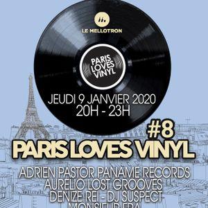 Paris Loves Vinyl #8 Le Mellotron Live Show Jan 2020