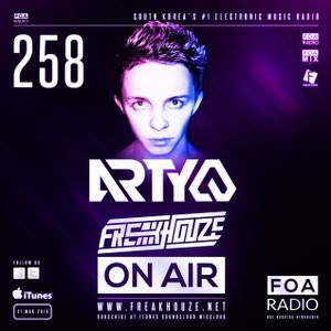 Freakhouze On Air 258 ● Arty @ Together FM