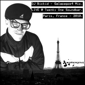 Galapagos4 Live Mix (Paris, France) 2010