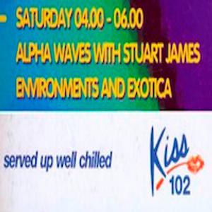 Alpha Waves ( Kiss 102 Manchester ) Ep085, Part 1, 1 June 1996