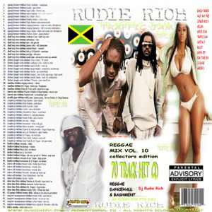 TRAFFIC JAM Reggae & Dancehall- MIXED BY ZJ RUDIE RICH (2006 THROWBACK MIXTAPES COLLECTORS EDITION)