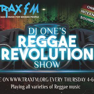 THE REGGAE REVOLUTION SHOW WITH DJ ONE - TRAX FM - THURSDAY 7th April 2016 - WEEK 11