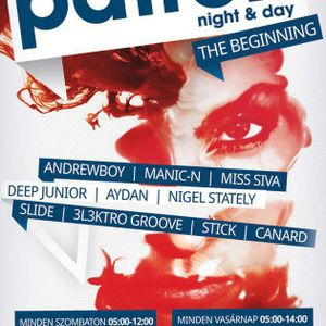 Slide & Aydan - Live @ Patron Club, Budapest After Party (2012-09-08)