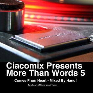 Ciacomix - More Than Words Edition 5 (2nd half of 2012) @ DI.FM