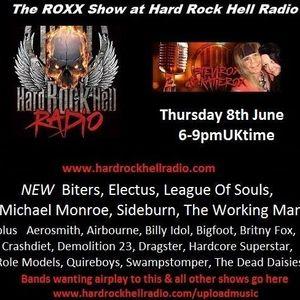 The ROXX Show at Hard Rock Hell Radio 8 June with Mr & Mrs Roxx