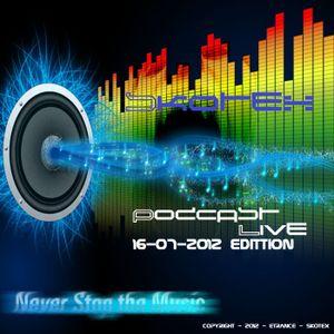 Skotex @ Podcast - Live! - 16-07-2012