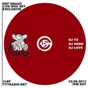DJ HoBo Def Squad Mix (Feb08 2013)