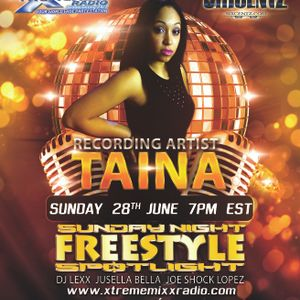SUNDAY NIGHT FREESTYLE SPOTLIGHT SPECIAL GUEST RECORDING ARTIST TAINA 7-1-15