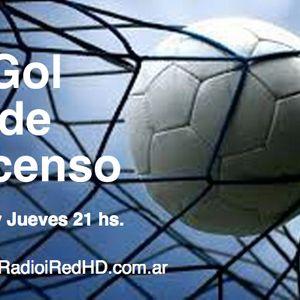 Gol de Ascenso. Programa del Lunes 28/9 en Radio iRed HD.